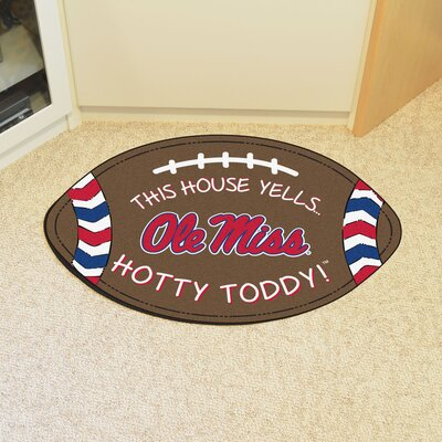 NCAA Ole Miss Southern Football Utility Mat