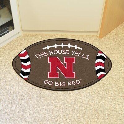 NCAA Nebraska Southern Football Utility Mat