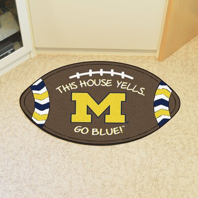 NCAA Michigan Southern Football Utility Mat