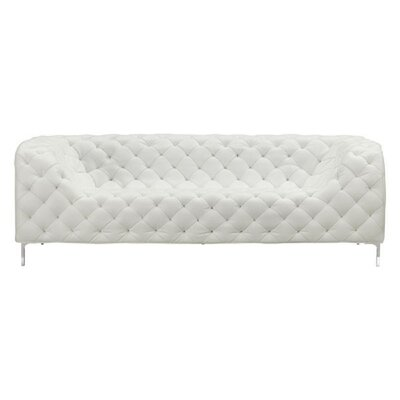 Heider Sofa Upholstery: White