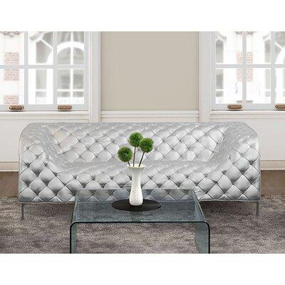 Heider Sofa Upholstery: Silver
