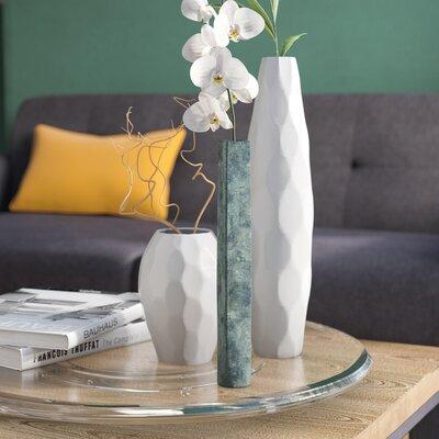 """Iron Verdigris Copper Table Vase Size: 11.42"""" H x 1.98"""" W x 1.97"""" D VRKG3424 39350629"""