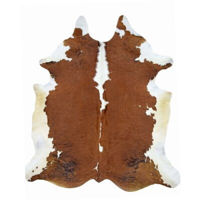 One-of-a-Kind Steinmetz Cowhide Brown Area Rug