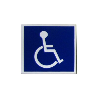 Handicap with Symbol Sign