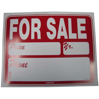 For Sale Plus Detail Sign