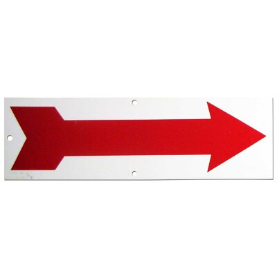 Red Arrow Sign