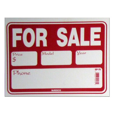 For Sale/Details Sign