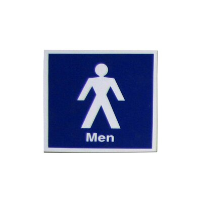 Men with Symbol Sign