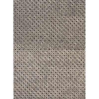 Chism Deco Hand-Tufted Black/Beige Area Rug Rug Size: Rectangle 96 x 13