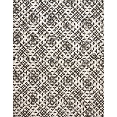 Chism Deco Hand-Tufted Black/Beige Area Rug Rug Size: Rectangle 8 x 106