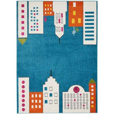 Chunn Blue Area Rug Rug Size: Rectangle 52 x 7