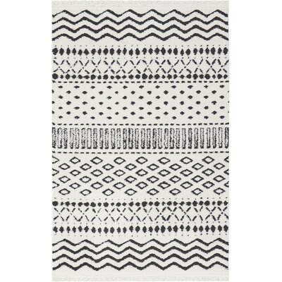Penwell White Area Rug Rug Size: Rectangle 311 x 511