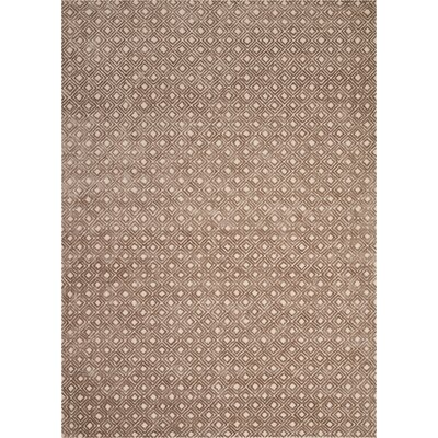 Chism Deco Hand-Tufted Taupe Area Rug Rug Size: Rectangle 96 x 13