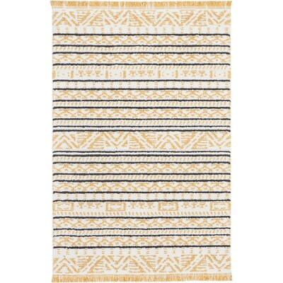 Penwell Yellow Area Rug Rug Size: Rectangle 311 x 511