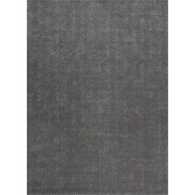 Manuel Deco Hand-Tufted Gray Area Rug Rug Size: Rectangle 96 x 13