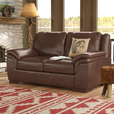 Braeden Loveseat Upholstery: Canyon