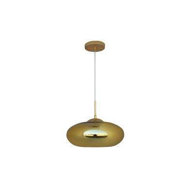 Hegarty 1-Light Mini Pendant Finish: Gold