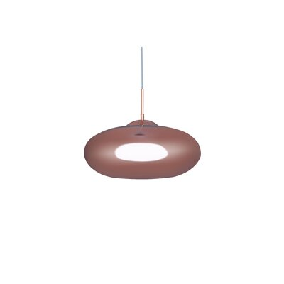 Hegarty 1-Light Mini Pendant Finish: Rose Gold