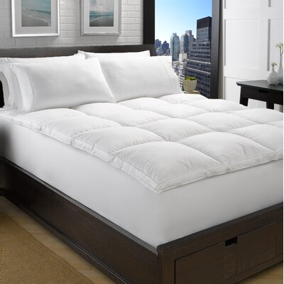 """Geib Goose Bed 2"""" Down Feather Mattress Topper Bed Size: Full"""