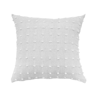 Indochine Tufting Embellishment 100% Cotton Throw Pillow