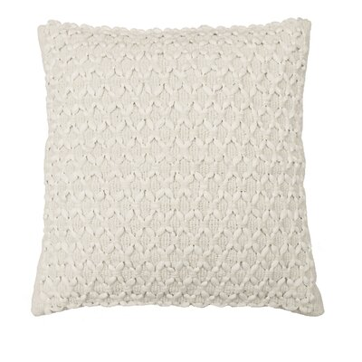 Laurel Woven Embellishment Throw Pillow