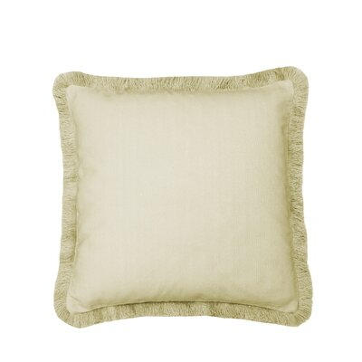 Laurel Fringe 100% Cotton Throw Pillow