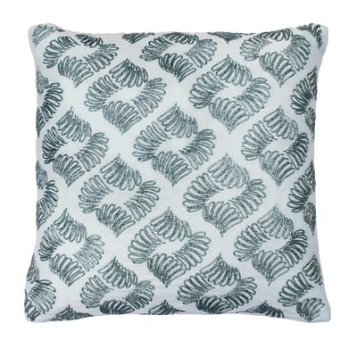 Arlee Beaded 100% Cotton Throw Pillow