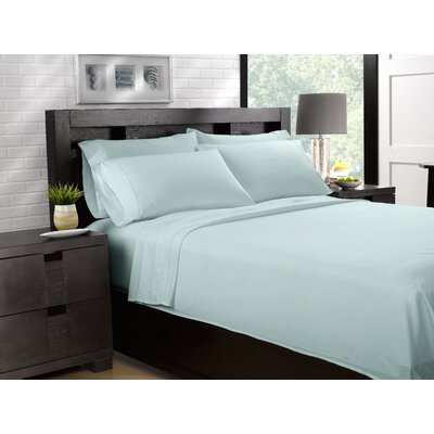 Etter Premium 700 Thread Count 100% Cotton Sheet Set Size: California King, Color: Blue