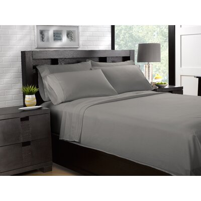Etter Premium 700 Thread Count 100% Cotton Sheet Set Size: California King, Color: Gray