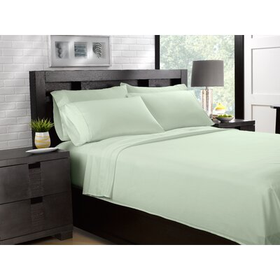 Etter Premium 700 Thread Count 100% Cotton Sheet Set Size: King, Color: Mint