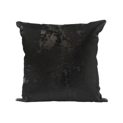 Dinges Leather Throw Pillow