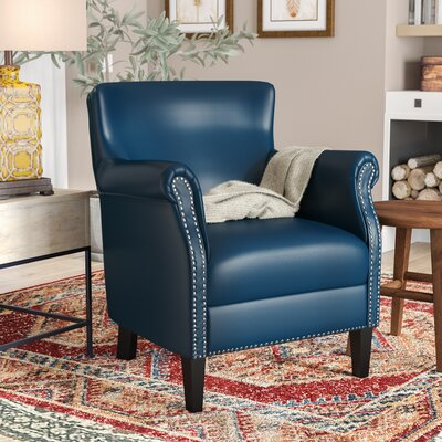 Odelia Armchair Upholstery: Navy Blue