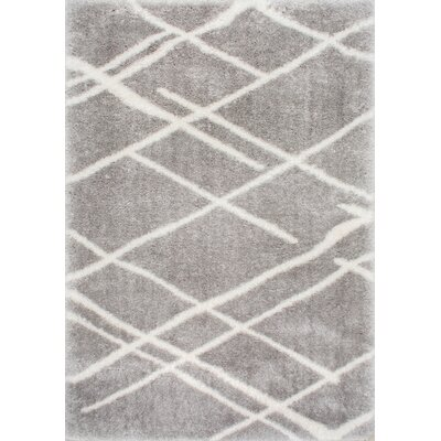 Shier Gray Area Rug Rug Size: Rectangle 710 x 10