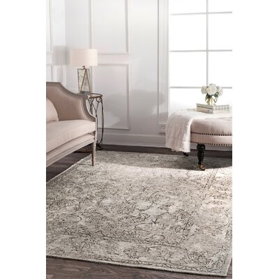 Lattimer Beige Area Rug Rug Size: Rectangle 53 x 8