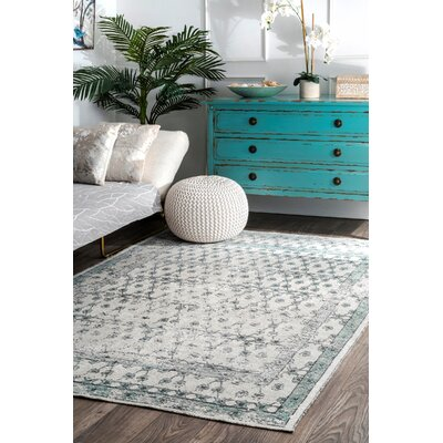Latrobe Gray Area Rug Rug Size: Rectangle 4 x 6