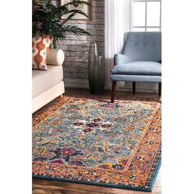 Pennyfield Green Area Rug Rug Size: Rectangle 5 x 75