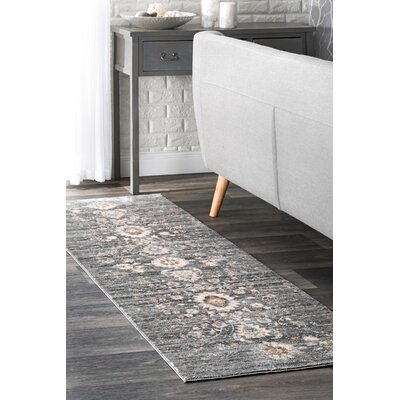 Latrobe Gray Area Rug Rug Size: Rectangle 5 x 8