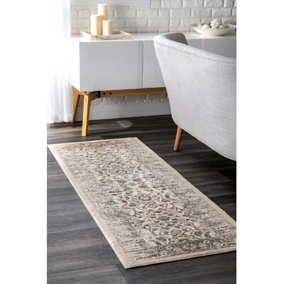 Lattimer Beige Area Rug Rug Size: Rectangle 5 x 8