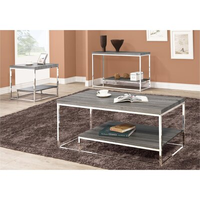 Shultis 3 Piece Coffe Table Set