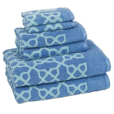 Turcios 6 Piece Towel Set