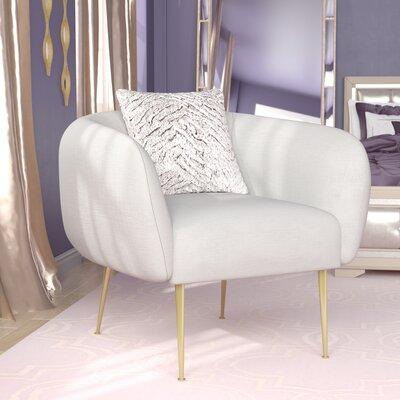 Reynaldo Armchair Upholstery: Off White