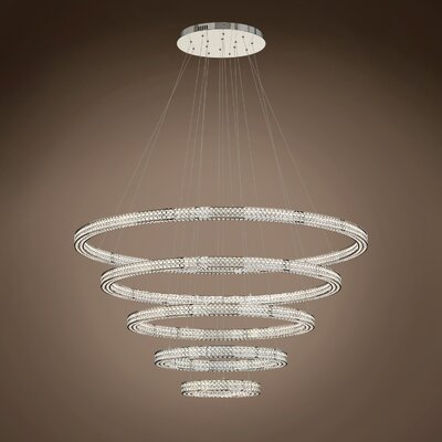 Lewandowski Ring 5-Light Crystal Pendant