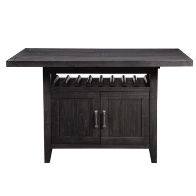 Langsa Counter Height Extendable Dining Table
