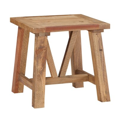 Stambaugh Reclaimed Wood End Table