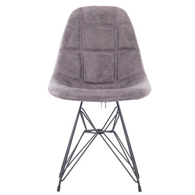 Goshorn Modern Upholstered Dining Chair Upholstery Color: Gray