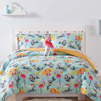 Holmquist Party Animals Sheet Set Size: Twin