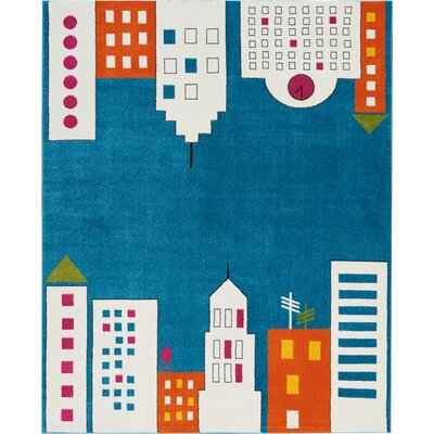 Chunn Blue Area Rug Rug Size: Rectangle 8 x 10