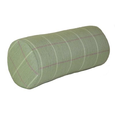 Escamilla Acrylic Bolster Pillow Color: Cottage Green, Size: 7 H x 18 W