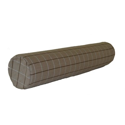 Escamilla Acrylic Bolster Pillow Color: Cottage Tan, Size: 7 H x 36 W