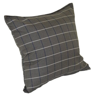 Escamilla Acrylic Throw Pillow Color: Cottage Gray, Size: 15 H x 15 W
